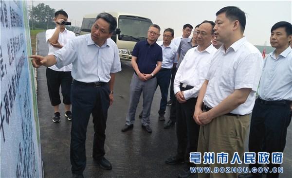 副省长章曦来亳州督导检查防汛救灾和长江流域禁捕退捕工作