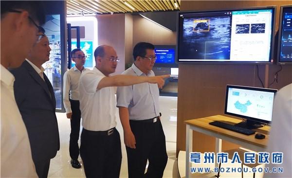 杜延安赴杭州、上海招商