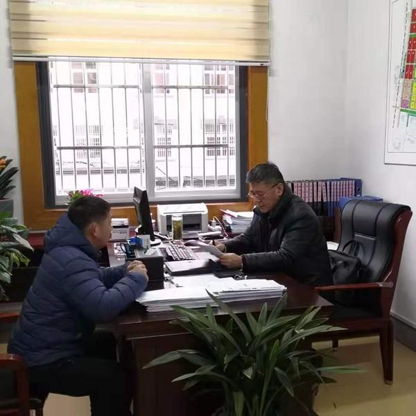 县委常委、常务副县长曹松军听取政务公开工作专题汇报