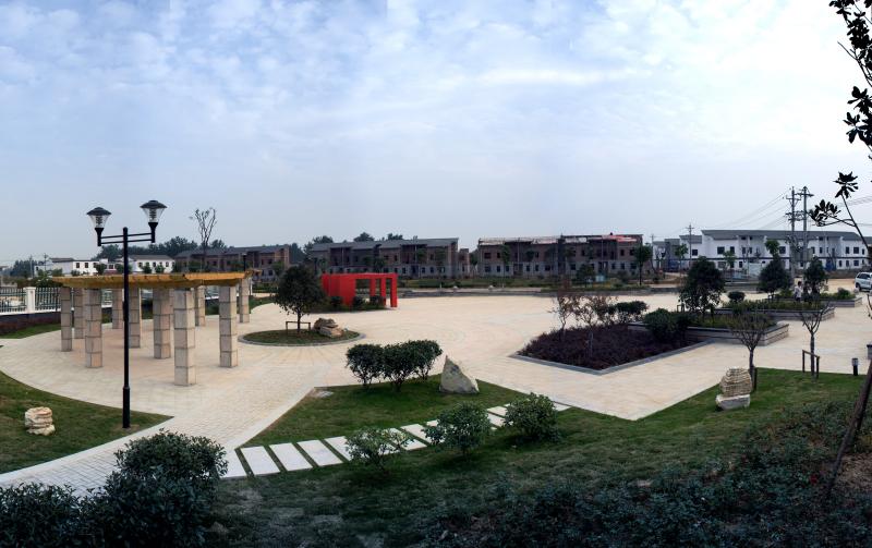 马店孜镇新农村文化广场
